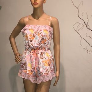 *S.A.L.E* Victoria's Secret Satin Romper